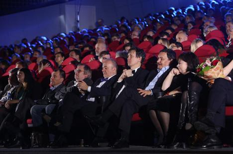 """Цырымонія ўзнагароджання пераможцаў і лаўрэатаў кінафоруму прайшла ў сталічным кінатэатры """"Масква"""""""