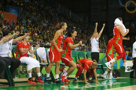 Беларускія баскетбалісткі перамаглі бразільянак у кваліфікацыі Алімпіяды
