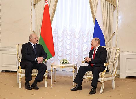 Бяспека будзе адной з галоўных тэм сустрэчы Лукашэнкі з Пуціным