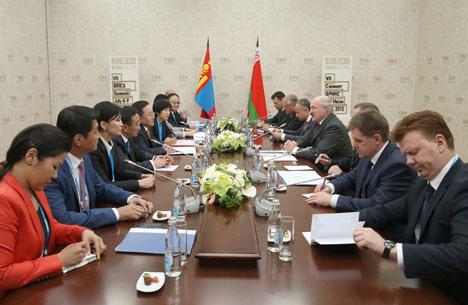 Беларусь і Манголія выказваюць узаемны інтарэс да пашырэння супрацоўніцтва