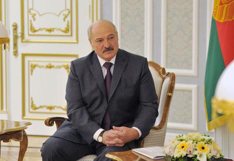 Лукашэнка адзначае інтарэс Беларусі да ўзаемадзеяння з ЕС па тэматыцы развіцця рэгіёнаў