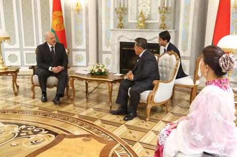 Лукашэнка: Беларусь не ставіць умоў у адносінах з Малайзіяй і гатова развіваць супрацоўніцтва