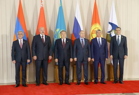 Лукашэнка назваў умову эфектыўнай работы ЕАЭС са знешнімі партнёрамі
