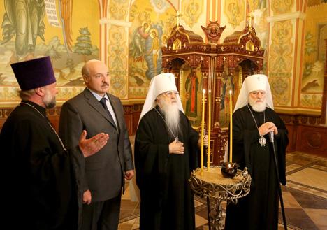 Лукашэнка разлічвае на больш глыбокую ўключанасць царквы ў сацыяльныя працэсы