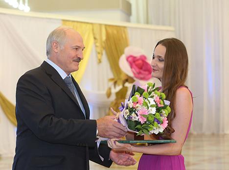 Яўгеніі Аляксеевіч аб'яўлена Падзяка Прэзідэнта