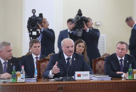 Старшынства ў АДКБ перайшло Беларусі