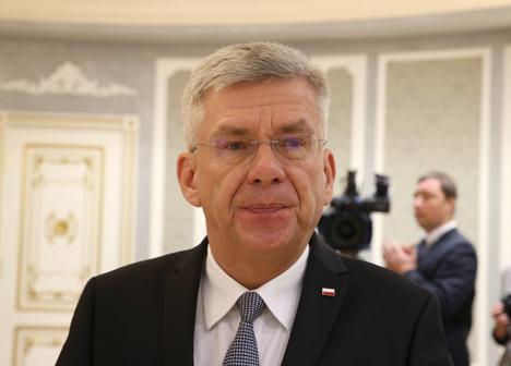 Маршалок сената Польшчы Станіслав Карчэўскi