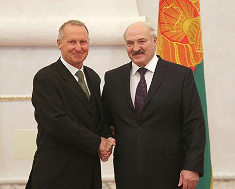 Лукашэнка: Беларусь гатова разглядаць любыя новыя ідэі і праекты з боку замежных партнёраў