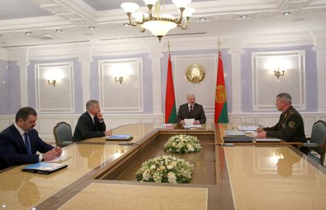 Лукашэнка зацвердзіў рашэнне на ахову дзяржграніцы Беларусі ў 2017 годзе
