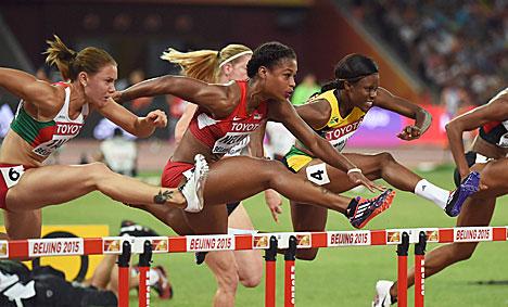 Аліна Талай заняла 3-е месца ў фінальным забегу ЧС-2015 па лёгкай атлетыцы ў бар'ерным спрынце
