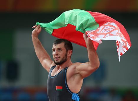 Беларускі спартсмен Джавід Гамзатаў заваяваў бронзу Алімпіяды ў грэка-рымскай барацьбе