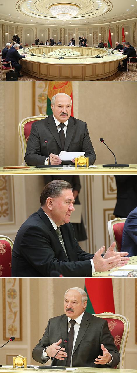 Лукашэнка прапануе Курскай вобласці супрацоўніцтва ў прамысловасці, сельскай гаспадарцы і будаўніцтве