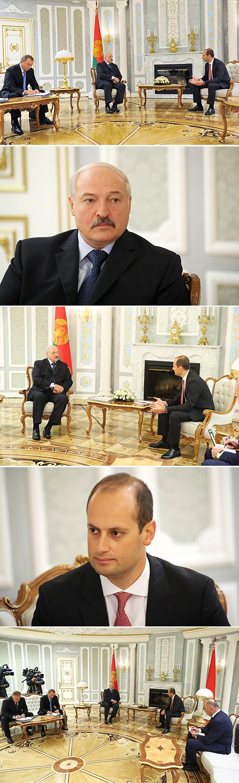 Cустрэча з віцэ-прэм'ер-міністрам - міністрам замежных спраў Грузіі Міхеілам Джанелідзэ