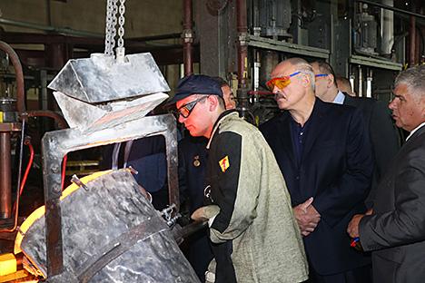 Лукашэнка патрабуе мультыплікатыўнага эфекту ў развіцці прампрадпрыемстваў