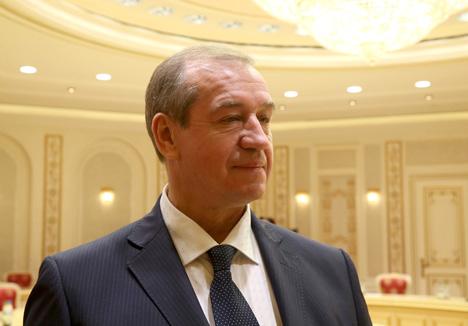 Губернатар Іркуцкай вобласці Сяргей Леўчанка