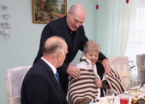 Лукашэнка аб галоўнай падзеі 2016 года: узрушэнні і няшчасці мінулі Беларусь