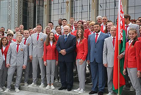 Лукашэнка: Алімпіяда - гэта вялікая палітыка і вялікі гонар дзяржавы