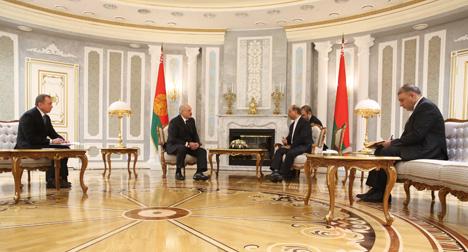 Лукашэнка лічыць неабходным значна павысіць узровень беларуска-іранскага супрацоўніцтва