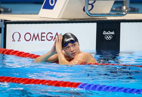 Аляксандра Герасіменя заваявала бронзу АГ у плаванні на 50 м вольным стылем