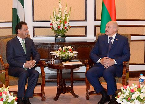 Лукашэнка надае асаблівае значэнне рабоце парламентаў у развіцці адносін Беларусі і Пакістана