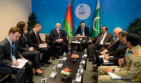Лукашэнка: Беларусь і Пакістан выйшлі на стратэгічны ўзровень партнёрства