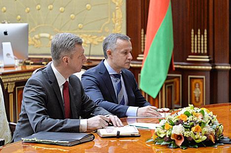 Лукашэнка даручыў наладзіць новую сістэму работы Міністэрства гандлю