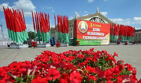 Лукашэнка: Беларусь за гады незалежнасці стала астраўком бяспекі і міралюбнасці