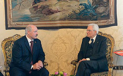 Беларусь і Італія абмяркоўваюць магчымасць стварэння бізнес-савета