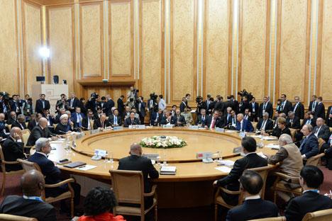 Лукашэнка: Беларусь гатова актыўна падключыцца да розных напрамкаў супрацоўніцтва з БРІКС