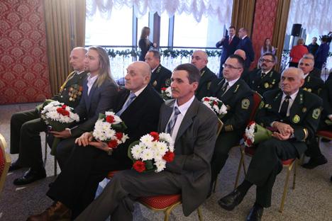 Кабякоў уручыў дзяржузнагароды заслужаным людзям Беларусі