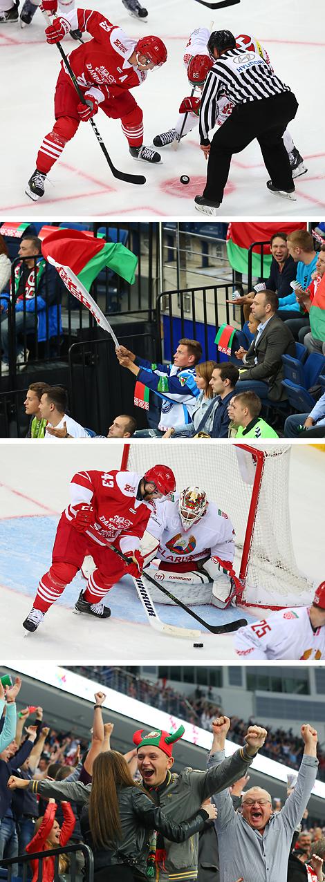 Беларусь - Данія - 5:2 (2:1, 0:0, 3:1)