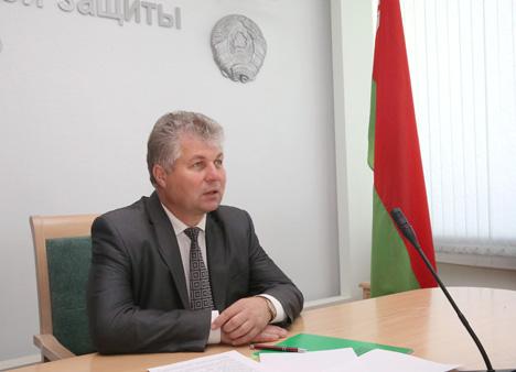 Намеснік міністра працы і сацыяльнай абароны Аляксандр Румак