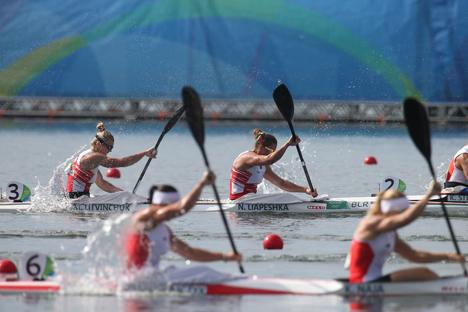 Беларускі экіпаж жаночай байдаркі-двойкі заняў 6-е месца на Алімпіядзе на дыстанцыі 500 м