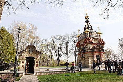 Магільны склеп князёў Паскевічаў у Гомелі адкрыўся для наведвання