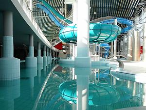 Мінскі аквапарк адкрыецца для наведвальнікаў 11 мая