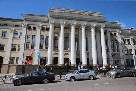 Адкрыццё будынка беларускага ТЮГа - прыклад клопату дзяржавы аб моладзі