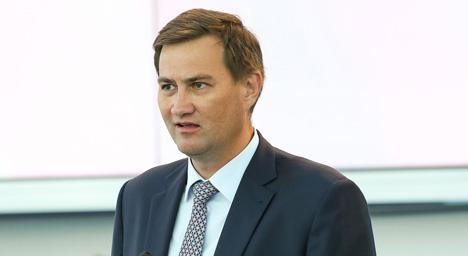 Першы віцэ-прэзідэнт НАК Беларусі Максім Рыжанкоў