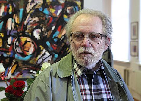 Жывапісец Аляксандр Салаўёў адзначыў сваё 90-годдзе юбілейнай выставай у Віцебску