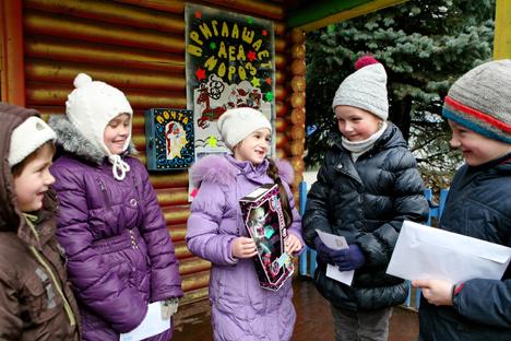 Дзед Мароз у мінскім парку імя Горкага пачне прымаць гасцей 23 снежня