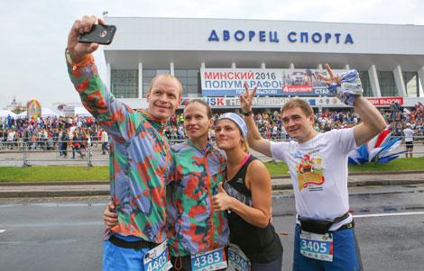 Арганізатары Мінскага паўмарафону ў 2017 годзе чакаюць 30 тыс. удзельнікаў