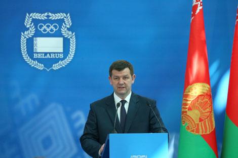 Намеснік міністра спорту і турызму Аляксандр Баравуля