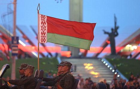 Парад войскаў і тэатралізаванае шэсце 3 ліпеня ў Мінску пачнуцца ў 21.30