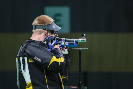 Ілья Чаргейка заняў 6-е месца ў стральбе з пнеўматычнай вінтоўкі на Алімпіядзе