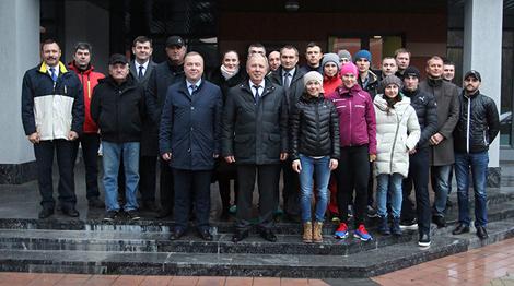 Фота Міністэрства спорту і турызму
