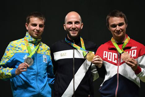 Нікала Кампрыяні (206,1 ачка), Сяргей Куліш (204,6), Уладзімір Масленнікаў (184,2)