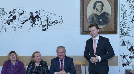 Фота пасольства Беларусі ў Расіі