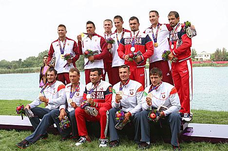 Беларускі экіпаж байдаркі-чацвёркі заваяваў бронзу Еўрапейскіх гульняў
