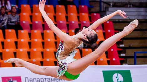 Беларуская грацыя Аліна Гарнасько заваявала бронзу на турніры ў Іспаніі