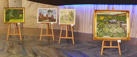 Выстава створаных расійскімі мастакамі карцін пра Беларусь адкрылася ў Маскве