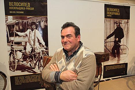 Прыватны калекцыянер Маўрыцыа Урбінаці з італьянскага Рыміні